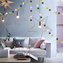 1Set Birthday Party Decoration Set Black Gold Paper Fans Flower Foil Star Garland Dot Banner Kid Baby Shower Supplies
