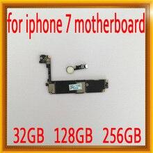32 ГБ/128 ГБ/256 ГБ оригинальный разблокирован для iphone 7 материнская плата с сенсорным ID, для iphone 7 логические платы с чипами