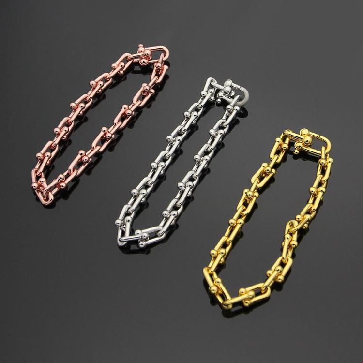High quality brand U sharpe titanium steel T letter bracelets ,Fashionable lady Bracelet party fine jewelry sharpe t the wilt inheritance