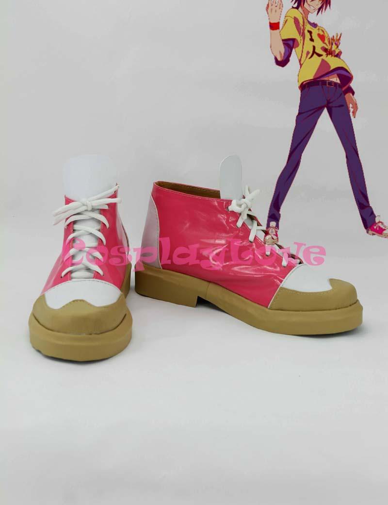 No Game No Life Sora Cosplay Shoes Boots Black Color Custom Made For Halloween Christmas Festival CosplayLove