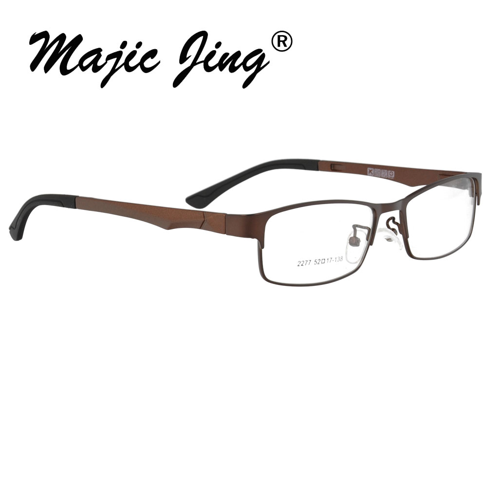 Metal prescription glasses Full Rim Men Fashion RX Optical Frames Myopia eyewear 2277