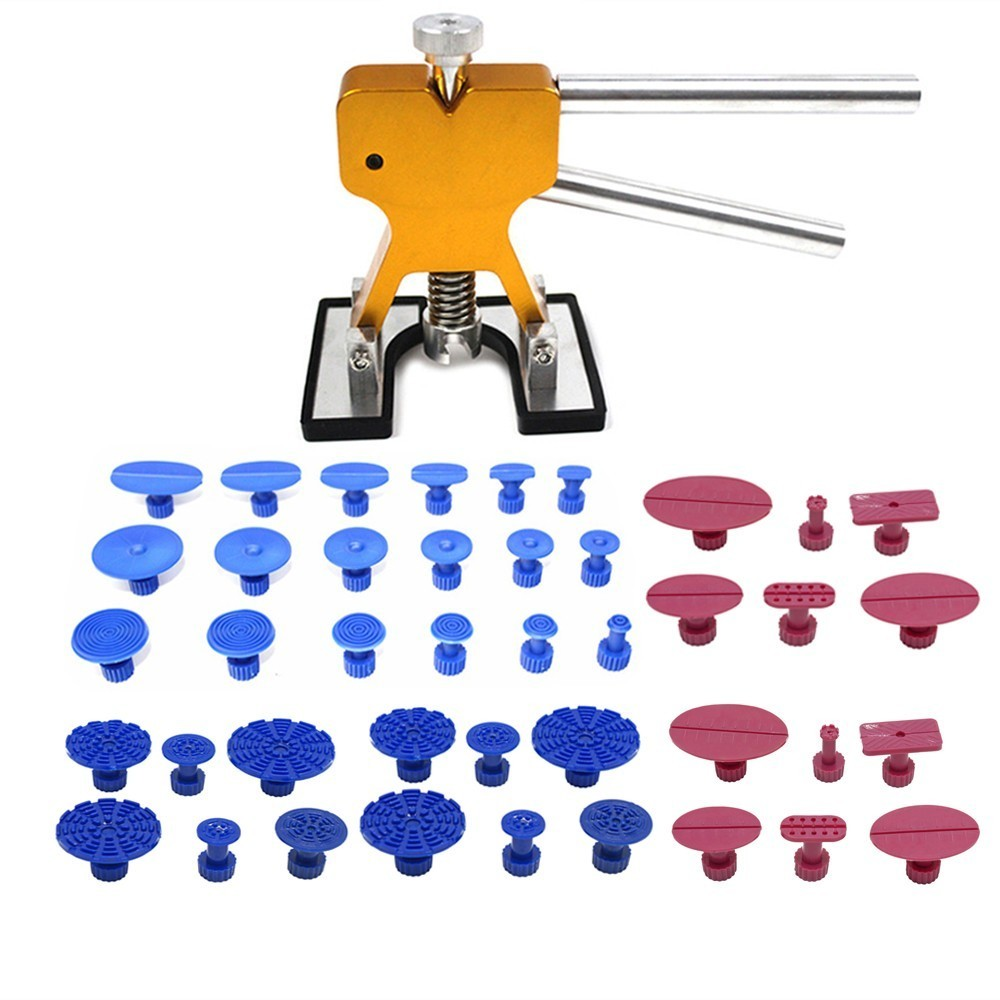 PDR Tools Paintless Dent Repair Tools Dent Removal Dent Puller Tabs Dent Lifter Hand Tool Set PDR Toolkit super pdr tools dent removal pdr tool kit dent puller tabs hand tool set paintless dent repair tools