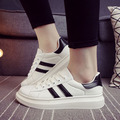 2016Korean version of autumn and winter women 's casual shoes women' s small white shoes student shoes size 35-40 zapato