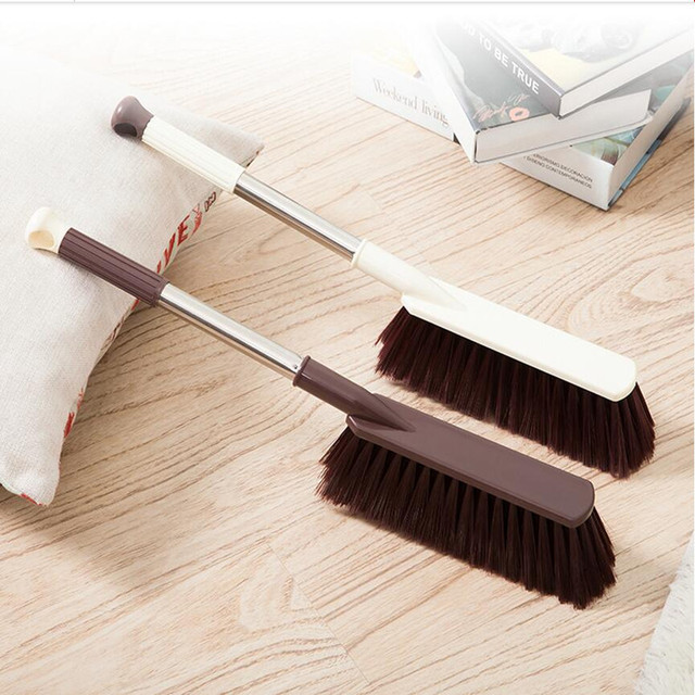 Beau Long Stainless Steel Handle Cleaning Brush Large Dust Brush Cleaner  Household Furniturer Car Floor Sofa Cleaning