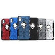 Telefoon case anti scratch voorzien caseTPU Cover Coque Shell met Kickstand voor Huawei P20 P30 Pro Lite Y6 Y7 Y9 nova 3 vuil resist