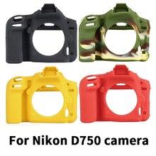 Alta Qualidade SLR Saco Da Câmera Saco Da Câmera para NIKON D750 Leve Case Capa para D750 Vermelho/Camouflage