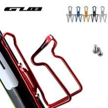 GUB CNC алюминиевый сплав Велосипедное оборудование металлическая бутылка для воды клетка MTB велосипед дорожный велосипедный держатель для бутылки 5 цветов