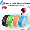 IP67 Waterproof Smart Bracelet W9 Sports Smartband Wrist Watch Watches Pedometer Fitness Tracker for Android IOS Smartphone