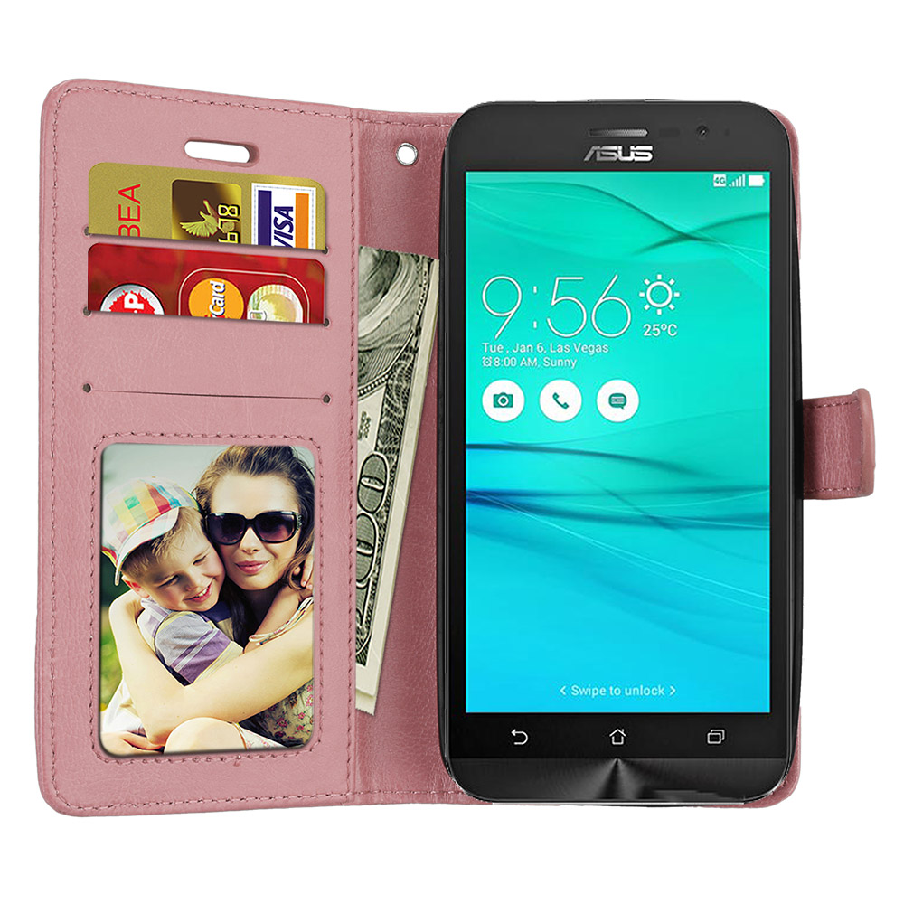 Phone Case For Capa Funda <font><b>Asus</b></font> ZenFone Go ZB500KL ZB500KG ZB <font><b>500</b></font> <font><b>KL</b></font> ZB <font><b>500</b></font> KG Flip Case Cover Wallet PU Leather Bag Skin Coque image
