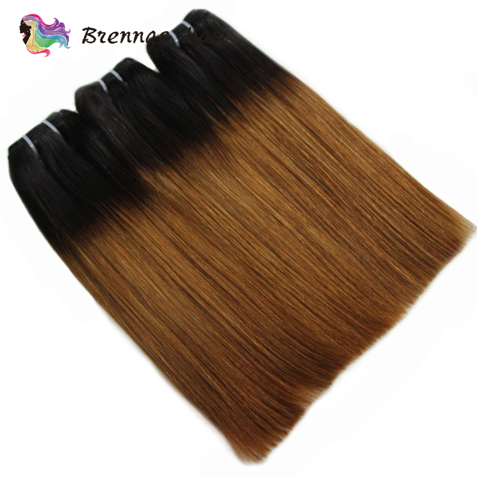 Double Drawn  Straight Hair s Ombre 1b30  Funmi  Bundles non  hair s Brennas 5