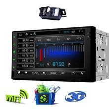 100% Android 4.4 Car Audio GPS Nav 2 din Car Stereo Radio Car GPS Bluetooth USB/Universal Interchangeable Player+4G MAP camera