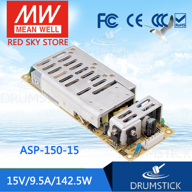 цена на Advantages MEAN WELL ASP-150-15 15V 9.5A meanwell ASP-150 15V 142.5W Single Output with PFC Function [Real6]