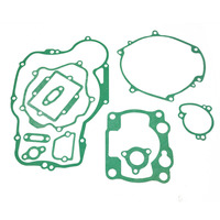 LOPOR For KAWASAKI KDX250 1991 1992 1993 1994 Motorcycle Engine gaskets include Crankcase Covers Cylinder Gaskets kit set
