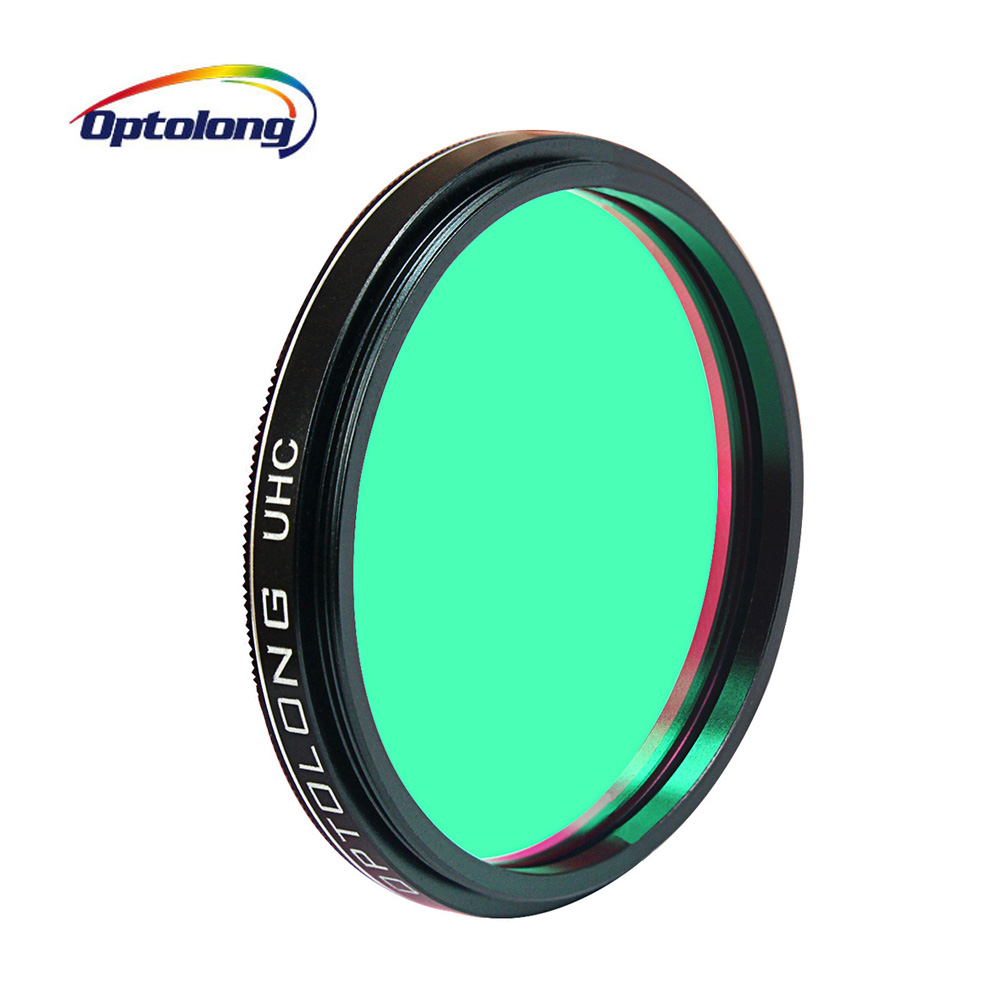 OPTOLONG UHC Filter Astronomical Telescope Eyepiece Filters Cuts Light Pollution Planetary Photography 1 25 2