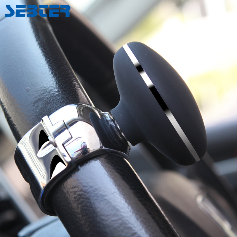 SEBTER Voiture-Styling Voiture Volant Bouton Boule De Voiture Auto Volant Bouton Balle Tournant Assistant Volant Booster balle