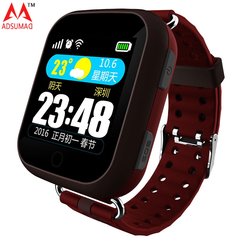 T400 Elderly Smart Watch GPS AGPS LBS Positioning Touch Screen Heart Rate Monitor SOS Location Tracker Senior Medical reminder fertel a16gps tracker watch sos call location finder heart rate monitor gsm large screen tracker for elderly man women free ship