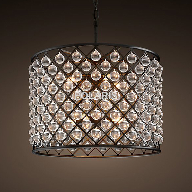 Luxury Vintage Crystal Chandelier Lighting Pendant Hanging Light Chandeliers Lamp for Home Decor Made by Polaris Lighting