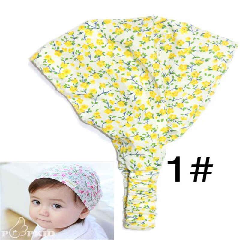 0-3Years old Summer Autumn Baby Hat Girl Boy Cap Children Hats Elastic Cute Toddler Kids Scarf Beanie Outdoors Sun Helmet Cap
