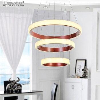 Nuovo Arrivo 3 Anelli di LED Lampade a sospensione lampadari ...