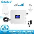 Lintratek Repeater 2g 3g 4g Signal Booster GSM Tri Band 900 DCS 1800 WCDMA 2100 handy cellular Signal Booster Verstärker