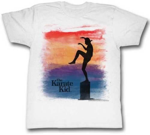 Karate kid кран Stance аэрографом смотреть взрослых Футболка Большой классический фильм