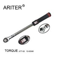 3/8 torque wrench with ratchet 10 60N.m click 3/8 torque wrench adjustable multitool set for auto and bike repair service