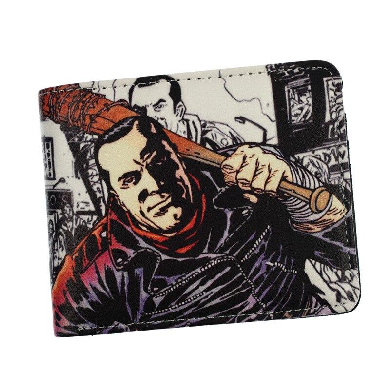 Herrentaschen Die Amc Film The Walking Dead Short Wallets Mit Kartenhalter Foto Halter Männer Und Frauen Cool Purse