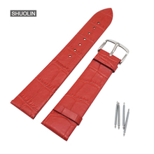 Genuine Leather Watchband Straps 12mm 14mm 16mm 18mm 20mm 22m watch band 22mm Strap Watchbands for women me J30-RE