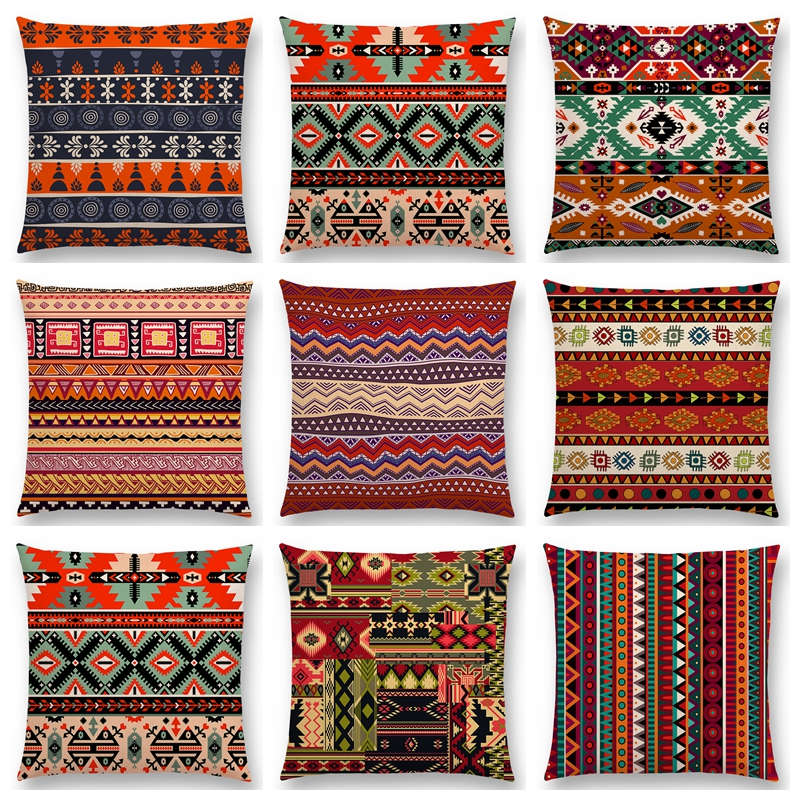 Admirable Us 3 34 33 Off Hot Sale Boho Primitive Geometric Pattern National Style Exotic Native Striped Navajo Arrow Cushion Home Decor Sofa Throw Pillow In Ibusinesslaw Wood Chair Design Ideas Ibusinesslaworg