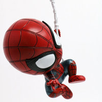 2pcs Iron Man Spider Man Homecoming Collectible Figures 4 Inches 5