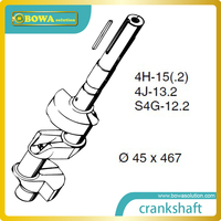 B4 Crankshaft for big 4 cylinder octagon refrigeration compressor compatible with Bitzer 4H15.2(Y) compressor parts