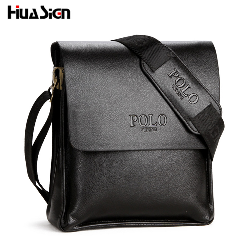 2016 Hot Selling PU Leather POLO Men Messenger Bags Crossbody Men's Travel - Fashion Wallet Co.,LTD store