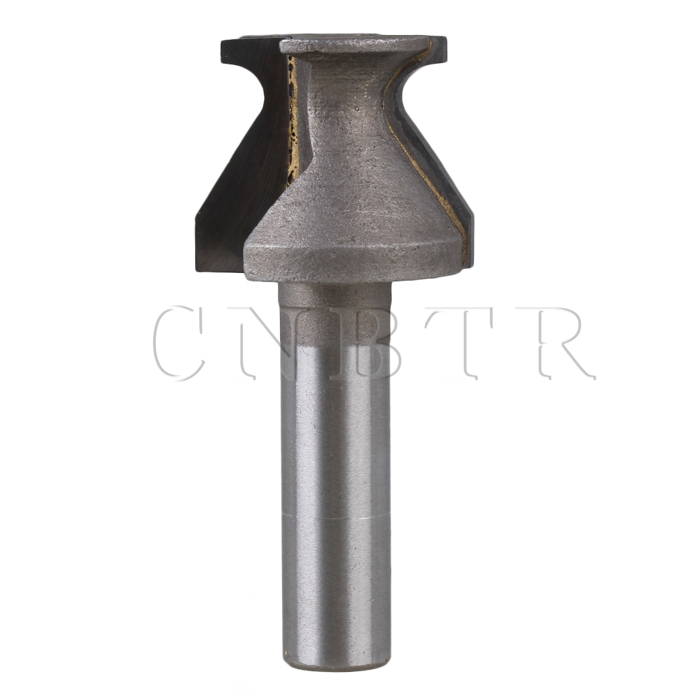 CNBTR 1/2 Inch Shank Door Lip \u0026 Finger Grip Router Bit Woodworking Cutter(