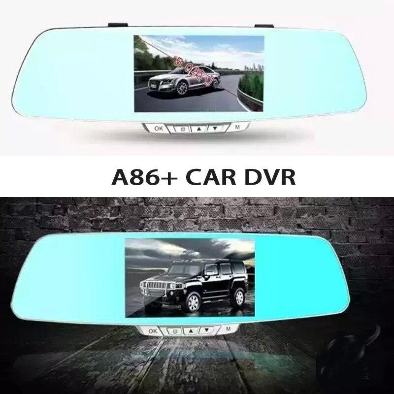 Car Dvr Camera A86+ FHD Lens 5 LCD Display Full HD 1080P Portable Car Camera DVR Video Recorder With G-Sensor Car DVR
