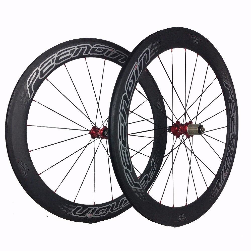 Rims For Cheap >> Us 408 0 Brand S60 Carbon Fiber Wheel Set 60mm Tubular 23mm Wide Volante Fundas Rims Cheap Road Bike Wheels Clincher Best Sale European In Bicycle