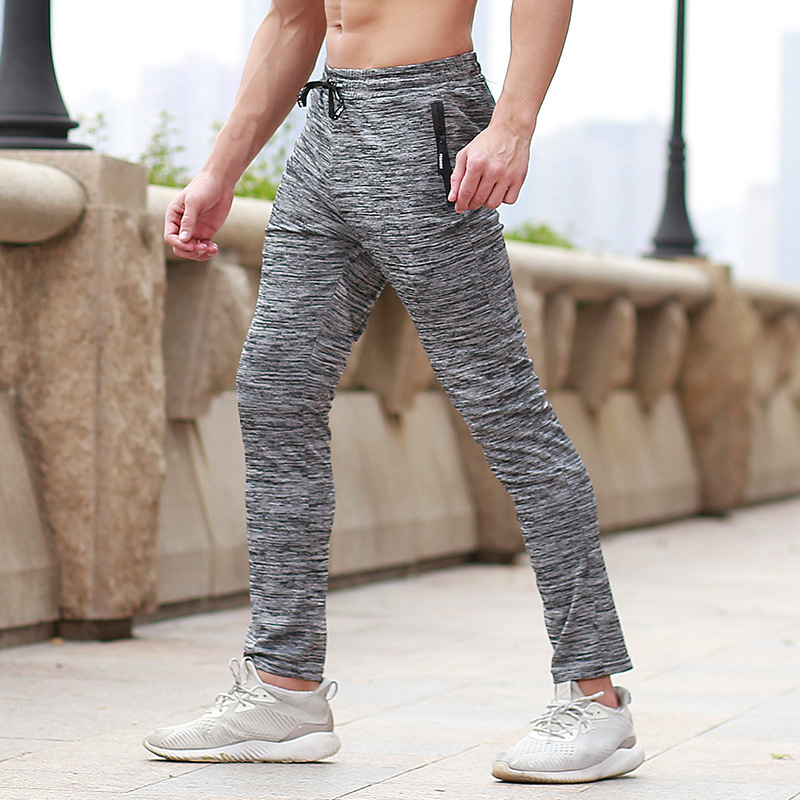 Summer Jogging Pants Men Fitness Quick Dry Gym Running Training Pants Breathable Sweatpants Workout Sport Anti-sweat Trousers цена