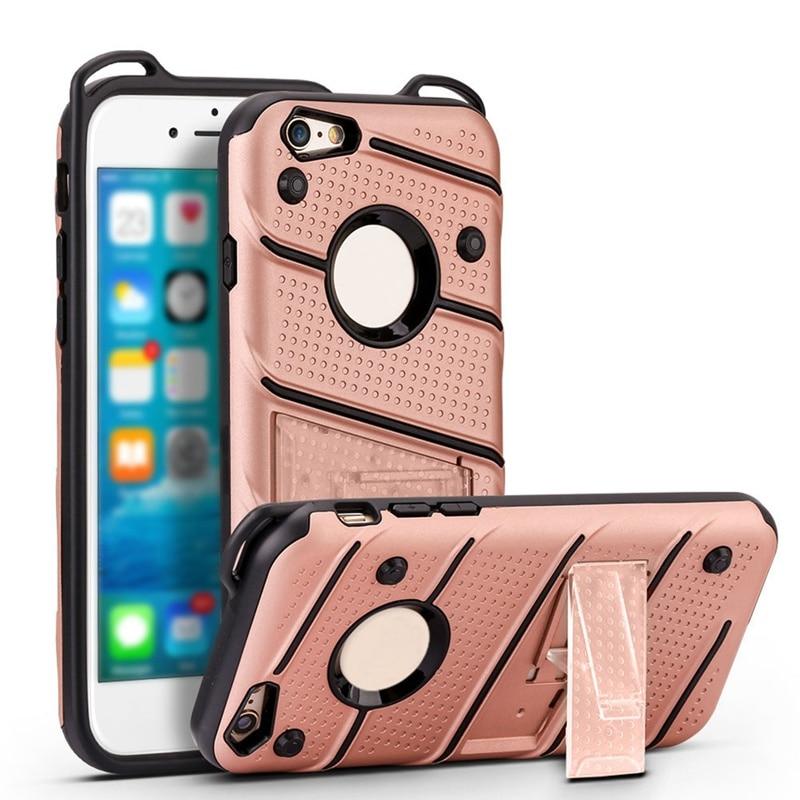 For iphone 6 7 8 plus X 2018 Phantom Legend Heavy Duty Protection Kickstand Dirt Resistant Business Phone Case