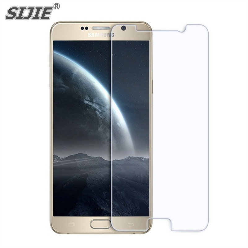 SIJIE Tempered Glass For SAMSUNG Galaxy A3 A5 A7 2016 2017 A8 A9 mobile phone Screen protect Explosion proof discount free gift