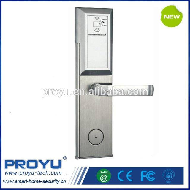 digital office door handle locks. China Factory Smart Keyless Security Door Lock ID Card Digital Hotel Office Home Handle Locks C