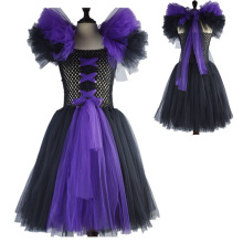 Fashion halloween princess carnival costumes clothes for children 2 to 9 years girls dress for birthday gown for 7 years old