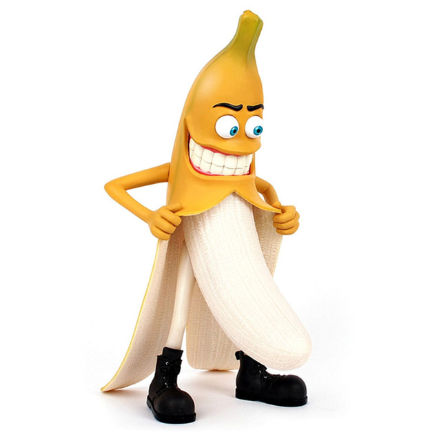 29 CM Height Action Models Evil Bad Banana Man Funny Devil ...