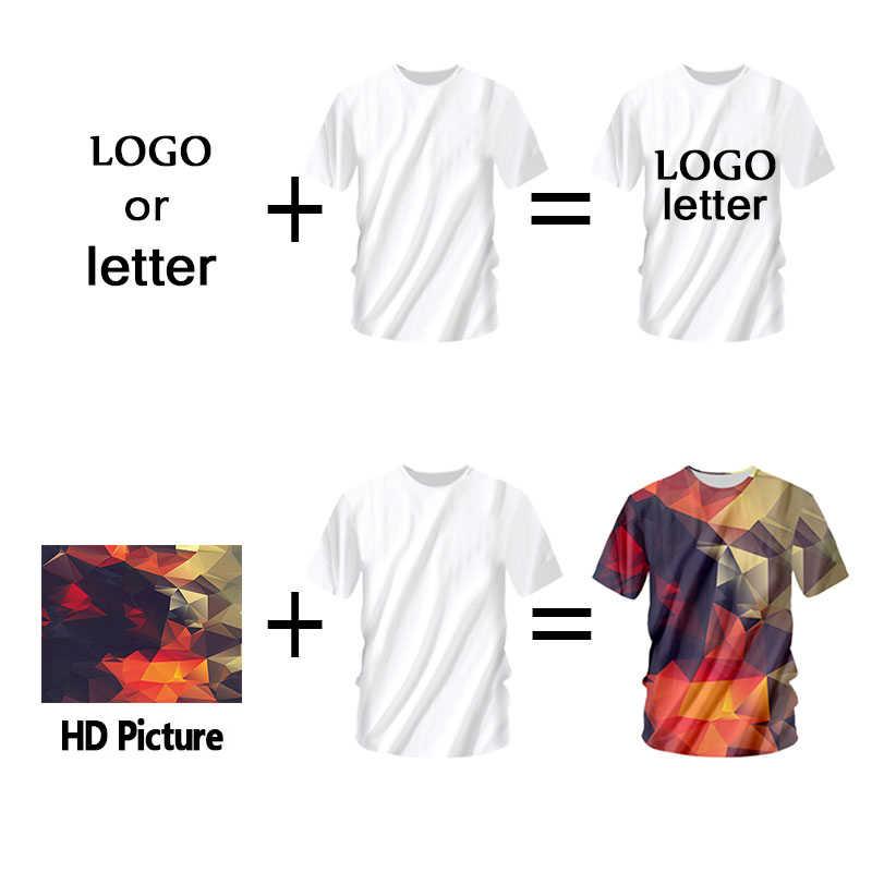 OGKB индивидуальные футболки летние топы для женщин/мужчин Персонализированное изображение на заказ футболка с принтом Galaxy Space 3D футболка мужские повседневные футболки