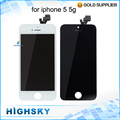Tested For apple iPhone 5 5G LCD Display + Touch Screen Digitizer Assembly No Dead Pixels Spot Stripes Black White free shipping