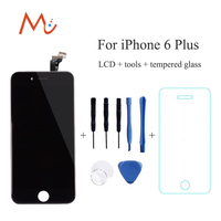 For IPhone 6 6 Plus White Black Replacement LCD Display Digitizer No Dead Pixel Touch Screen