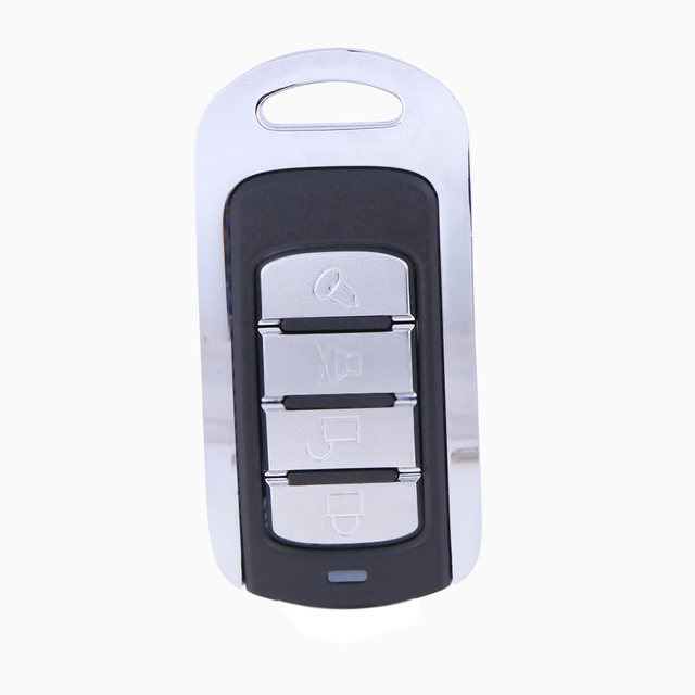 Cool 4 Channels Universal Metal Wireless Remote Control Learning Fixed Code 868MHz 12V 10mA for Electronic Garage Style - Modern universal garage door opener New