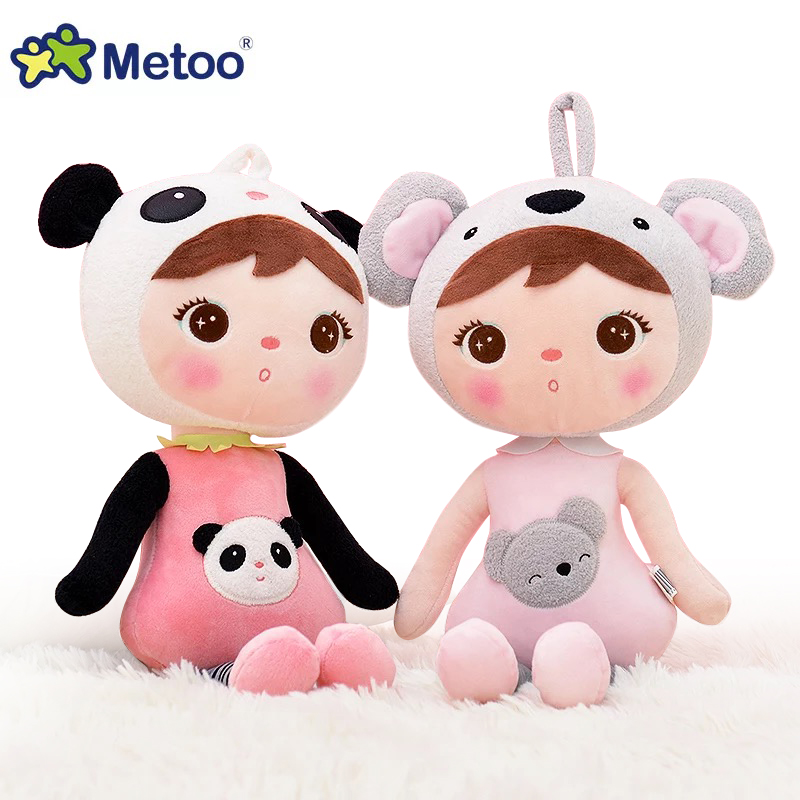 50cm New Metoo Cartoon Stuffed Animals Angela Plush Toys Sleeping Dolls For Children Toy Birthday Gifts Kids Free Shipping