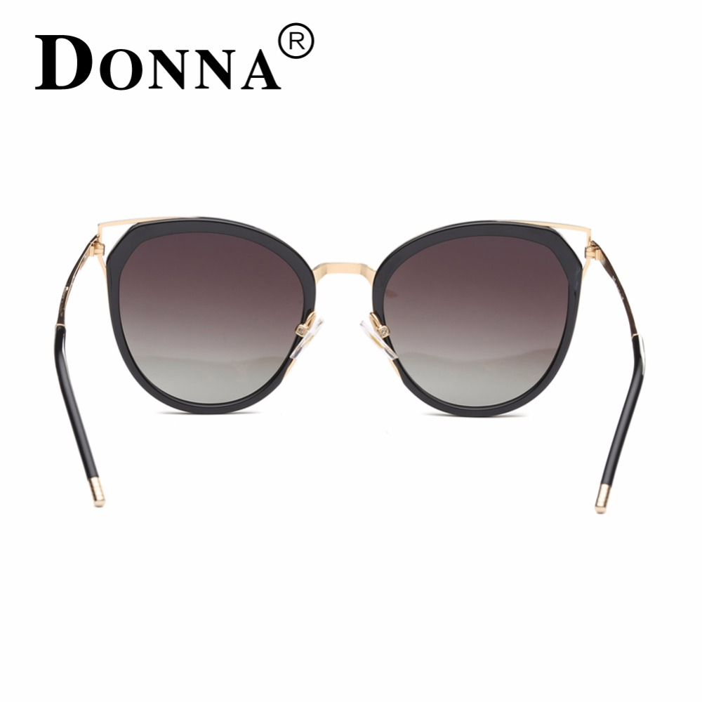 5657ebea9f9 DONNA Cat Eye Sunglasses Woman Oversize Shades Luxury Brand Designer Sun  Glasses Vintage Retro Unique Legs lunette de soleil D19-in Sunglasses from  Apparel ...