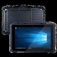 10.1 дюймов RS232 последовательный DB9 порт принтер палец 4 г/64 г Оперативная память/Встроенная память Windows 10 Home прочный планшеты с док станцией