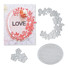Julyarts 2019 New Silver Flowers Metal Cutting Dies For Scrapbooking Wedding Invition Card Paper Craft Templates