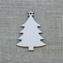 promotional gift Christmas wood hanging decoration